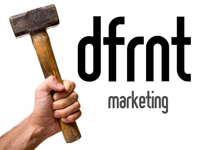 Dfrnt marketing logo