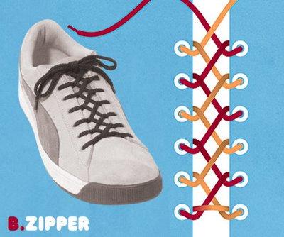 Sneaker lacing 2