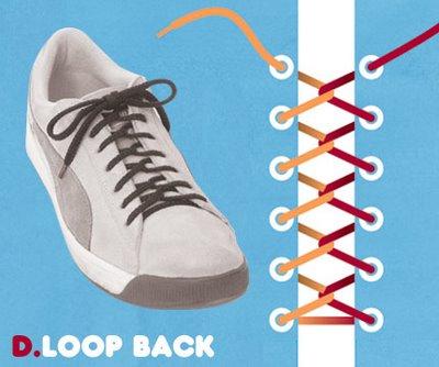 Sneaker lacing 4